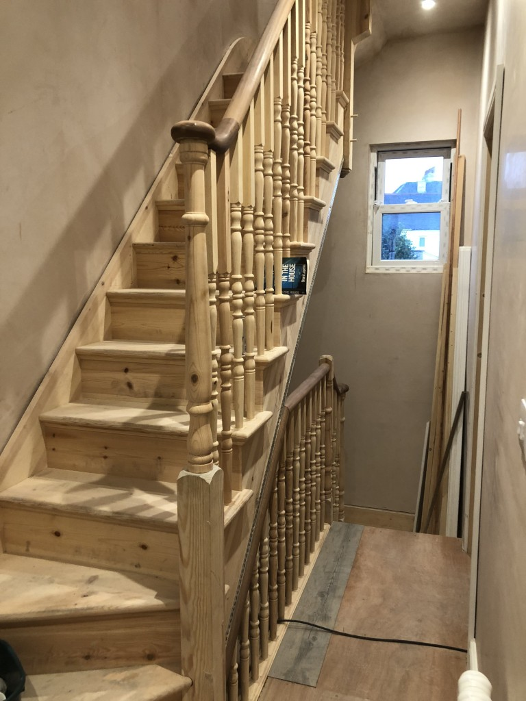 Pine Staircase Smithsofbromley